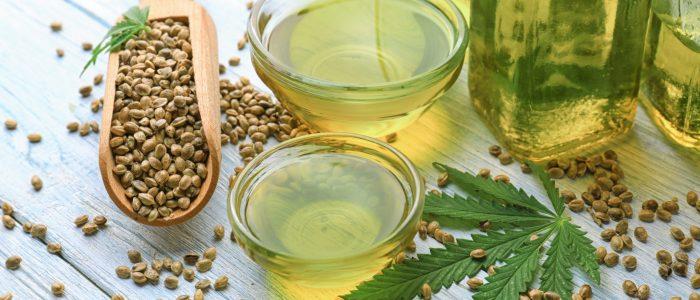 hemp seeds and CBD oil